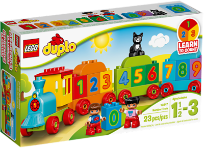 Image of LEGO DUPLO – Number Train