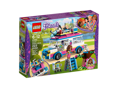 Image of LEGO- Friends- Olivia's Mission Vehicle
