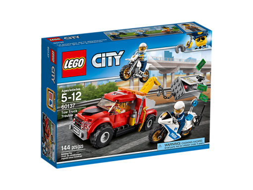 Image of LEGO- Tow Truck Trouble