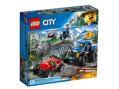 LEGO - City Dirt Road Pursuit Building Bricks Brickland Edgemead - Cape Town South Africa