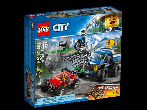 LEGO - City Dirt Road Pursuit Building Bricks Brickland Edgemead - Cape Town South Africa