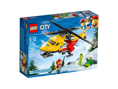 Image of LEGO- Ambulance Helicopter