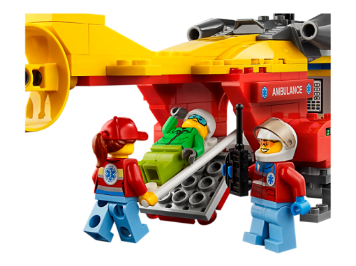 Image of LEGO- Ambulance Helicopter
