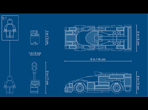 Image of LEGO- Porsche 919 Hybrid
