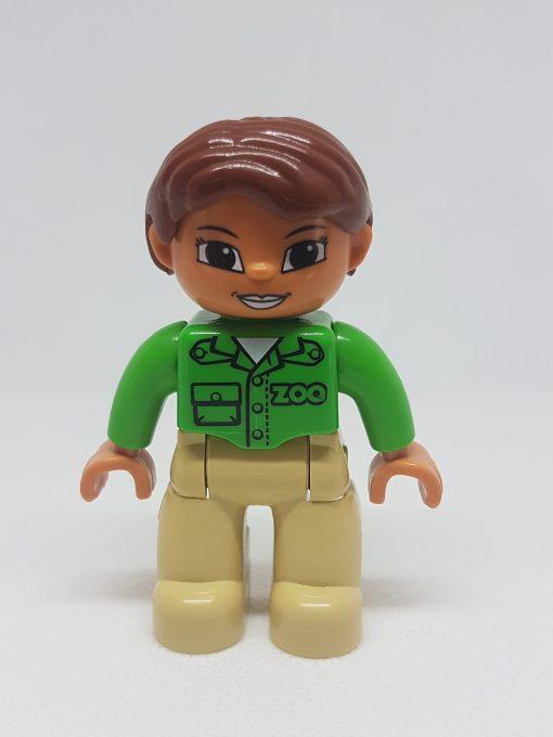Image of Girl Zoo Keeper